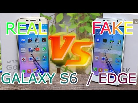 Real vs Fake Samsung Galaxy S6 / Edge - Best 1:1 Copy - China clone - Full Review [HD]