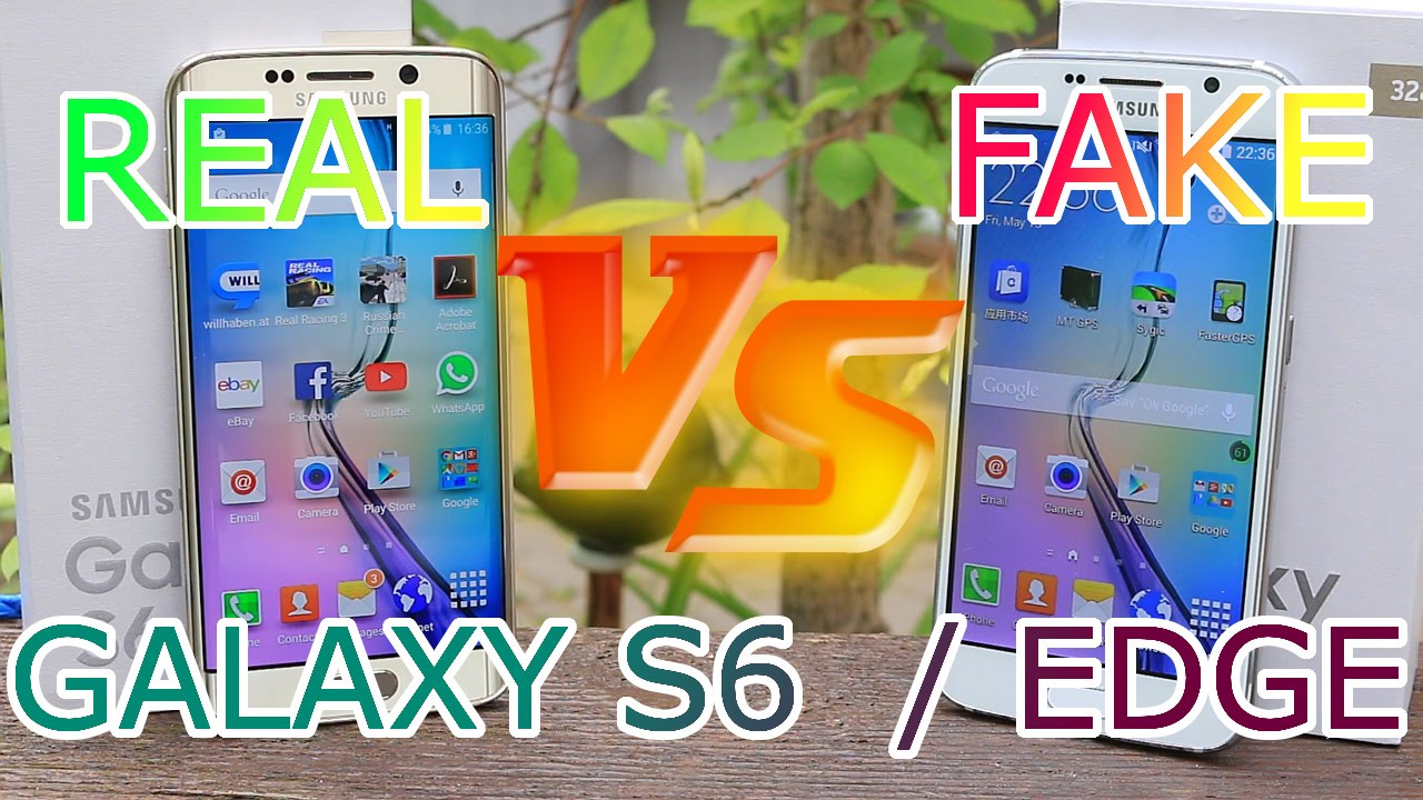 People are selling samsung galaxy s6 clones - Real Vs Fake Samsung Galaxy S6 Edge Best 1 1 Copy China Clone Full Review Hd Youtube