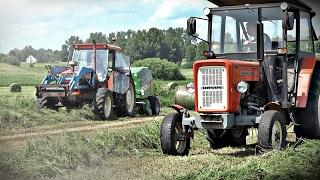 Sianokosy z polskimi maszynami - Ursus C360, 1224 & ZTS 16245 ㋡ Bronczek