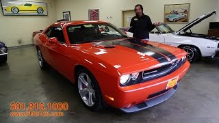 2009 Dodge Challenger SRT8 for sale with test drive, driving sounds, and walk through video
