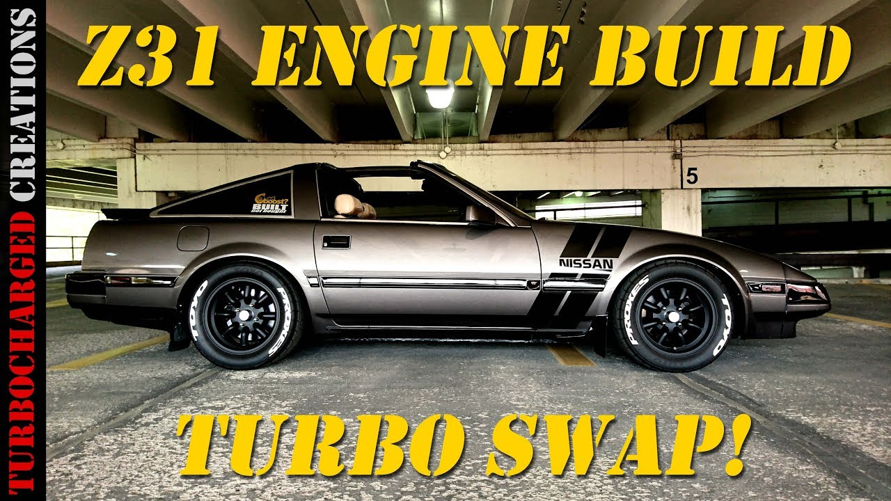 1985 nissan 300zx turbo engine