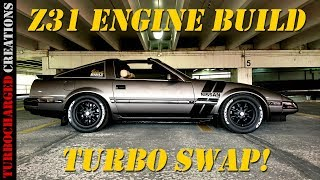 Christien's Z31 300zx Engine Build and Turbo Swap!