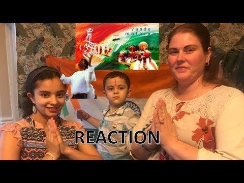 MAA TUJHE SALAAM / A R RAHMAN / AMERICANS REACTION