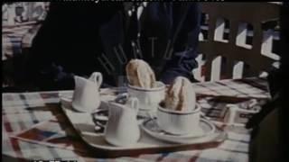 Breakfast In Brittany, 1950s - Film 96403