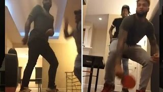 Odell Beckham Jr is Twerking AGAIN, with No Girls Around AGAIN - Not Sus at All