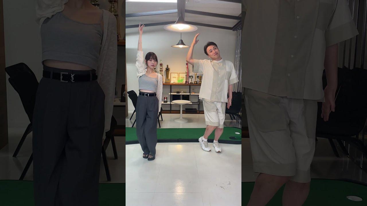 【動画】堀未央奈がアンジャッシュ児嶋とバレッタ踊ってる!!