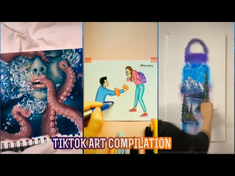 TIKTOK ART COMPILATION #5