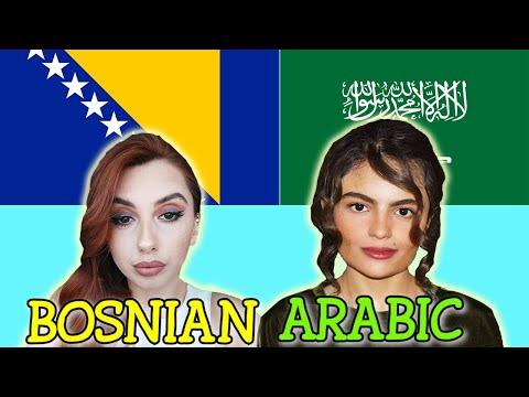 Similarities Between Arabic and Bosnian