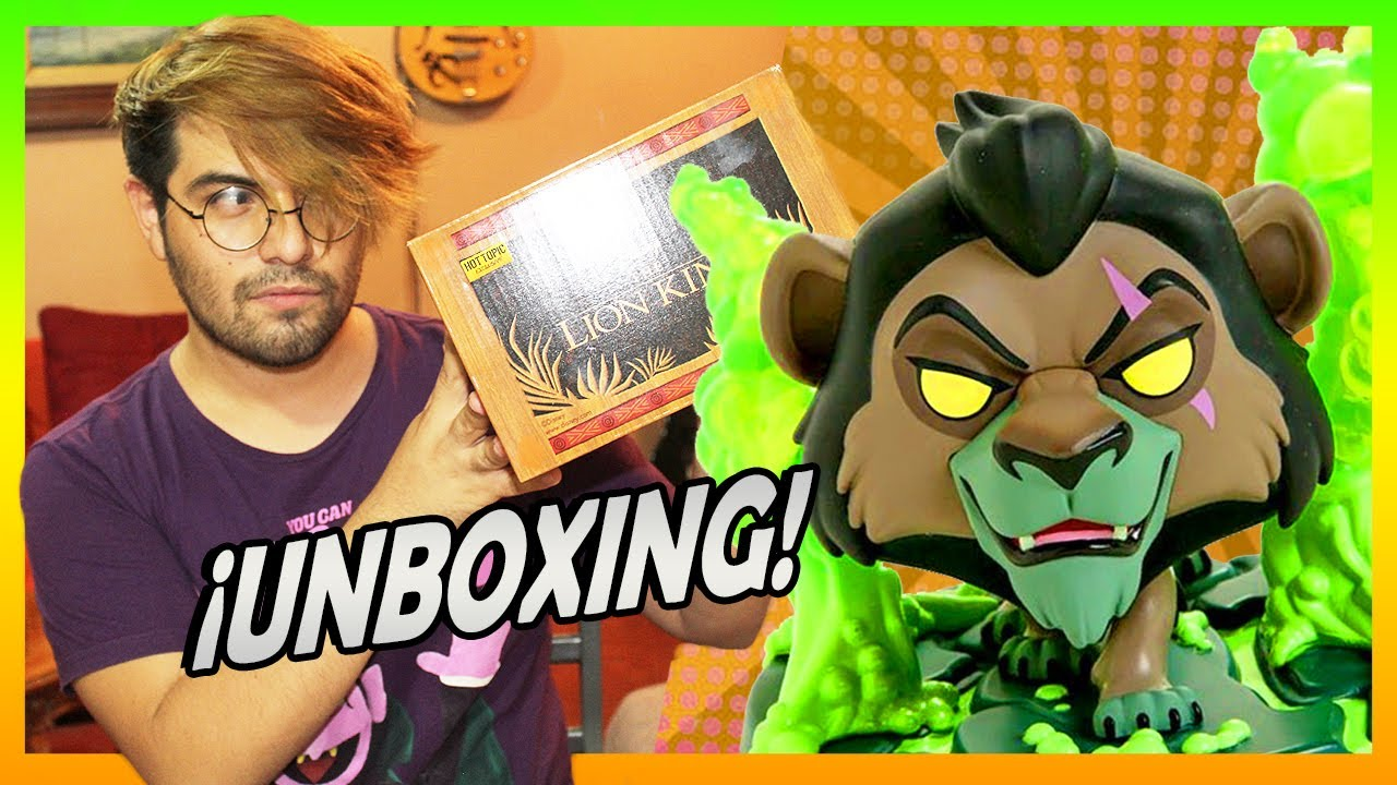UNBOXING el REY LEÓN | Funko Pop Disney 🦁