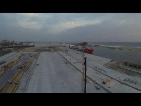 Terminal de Contenedores en el Puerto de Lomé (TOGO) Septiembre 2014