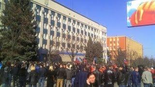 Луганск сегодня   07 04 2014г  СБУ