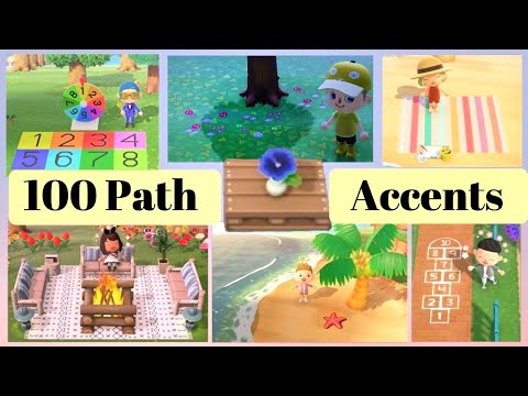 100 Latest Paths Custom Design Codes For Animal Crossing New Horizons Acnh Patterns Youtube