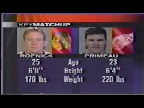 NHL Western Conference Finals 1995 - Game 3 - Detroit Red Wings @ Chicago Blackhawks