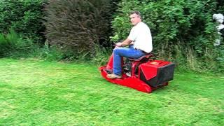 Dynamow Ds Hydrostatic Ride On Lawnmower