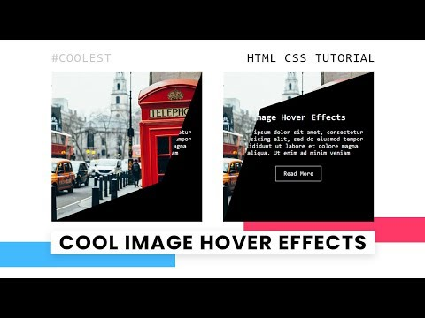 CSS Image Hover Effects | Html CSS Clip-path Hover Effect thumbnail