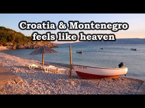 Croatia and Montenegro - Feels Like Heaven . Motorcycle trip across Europe 2015 - part 1