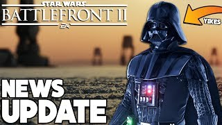 NEWS UPDATE! Darth Vader BUFF, Returning Maps Info, Rank Changes and More! Star Wars Battlefront 2