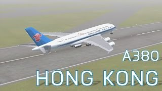 FSX China Southern A380-800 at Hong Kong | Take-Offs | Series 3 Episode 3
