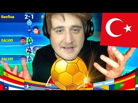 YABANCI YOUTUBERLAR İLE ŞAMPİYONLAR LİGİ TURNUVASI !!