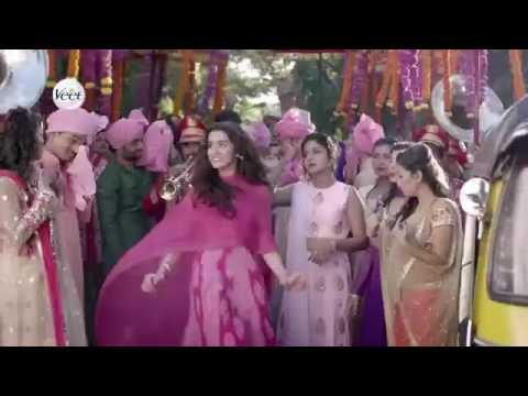 Shraddha Kapoor - Veet mini pack ad 2016