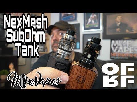 OFRF NexMesh Sub Ohm Tank Review!!
