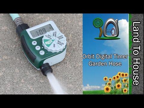 Orbit Digital Timer Garden Hose - Land To House