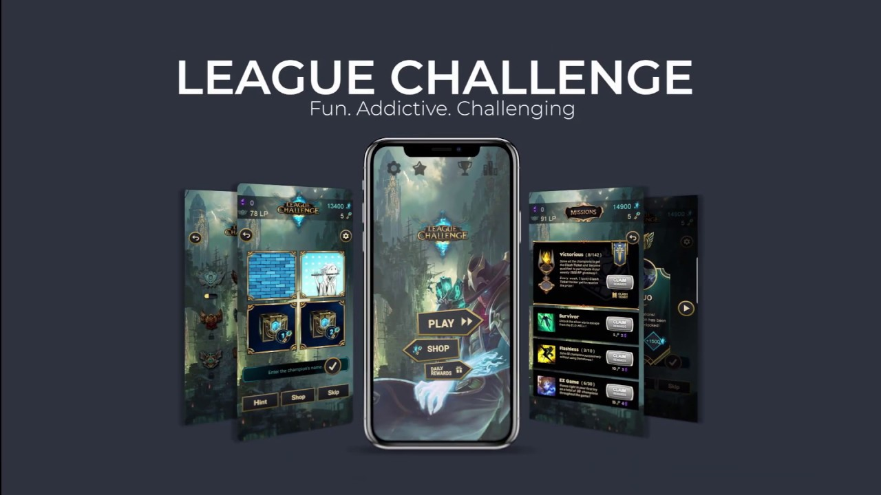League Challenge Answers