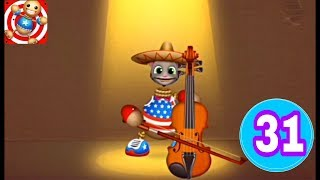 TOM PlAYING MUSIC IN | Kick the Buddy game | talking tom | walkthrough Part 31 ( iOS, Android )