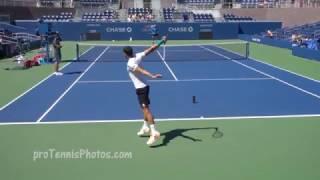 Grigor Dimitrov 2016 US Open practice, 4K