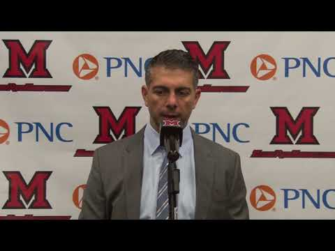 Miami Hockey - Post Game Comments - 11/18/17