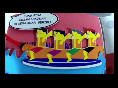 Kepulauan Seribu Karya - Bhaskara Jayakatwang #KotaKreatifku