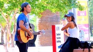 Singing To Beautiful Girls!