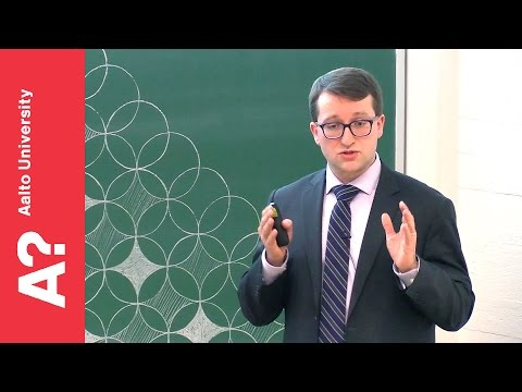 """Filip Tuomisto: """"Antimatter, materials physics and nuclear engineering"""""""