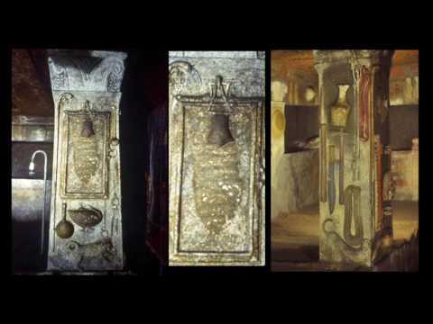 Ancient links: Banditaccia Necropolis, Italy. newearth 2016