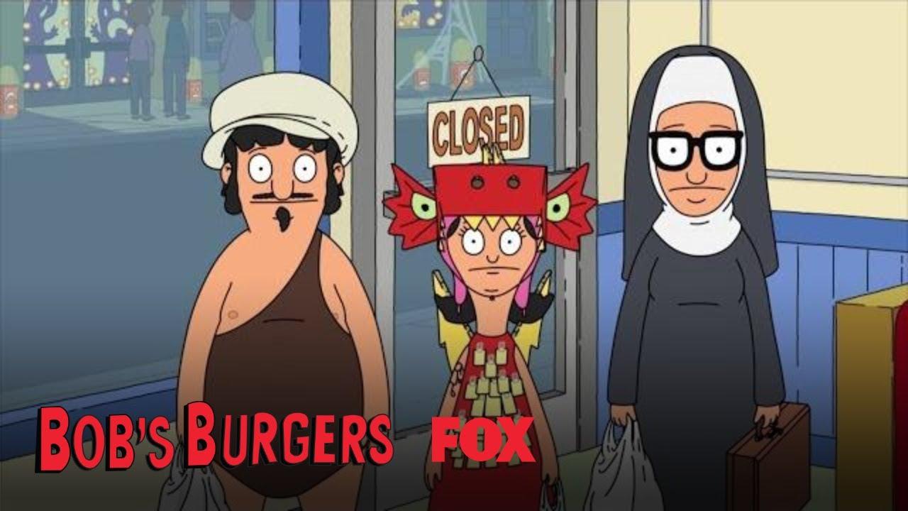 Nice Gene, Louise, U0026 Tina Show Linda Their Halloween Costumes   Season 9 Ep. 4    BOBu0027S BURGERS