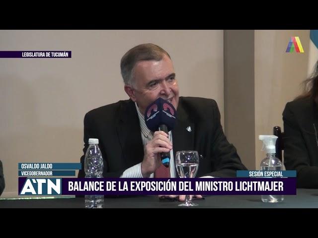 El vicegobernador Jaldo brindó una conferencia de prensa