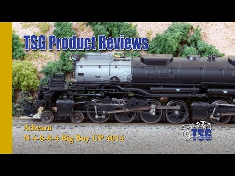 N Scale DCC UP Big Boy 4014 4-8-8-4 Athearn Product Review