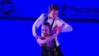 А Бойкова Д Козловский Показательные выступления Гран при по фигурному катанию 2020 21