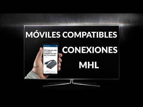 Móviles Compatibles con MHL ¿Es el mío compatible? ¡Míralo!