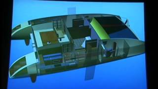 Duane Branch — Corellian 40' Catamaran Design, IBEX 2011