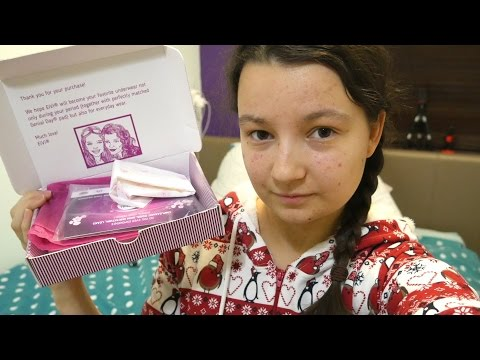 EiVi period panties+Genial pads review