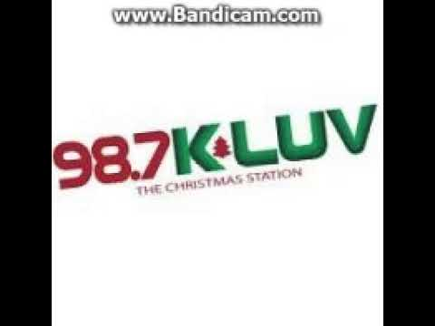 25 Days of Christmas Radio 2017: Day 14: KLUV 987 KLUV Station ID December 14, 2017 10:00am