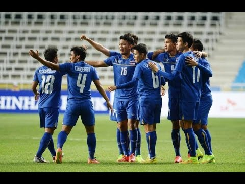 ไฮไลท์ ทีมชาติไทย 6-0 อินโดนีเซีย ฟุตบอลเอเชี่ยนเกมส์ 22-9-2014