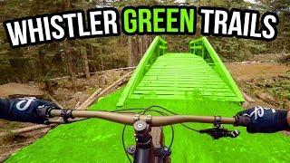 whistler bike park green trails complete beginners guide