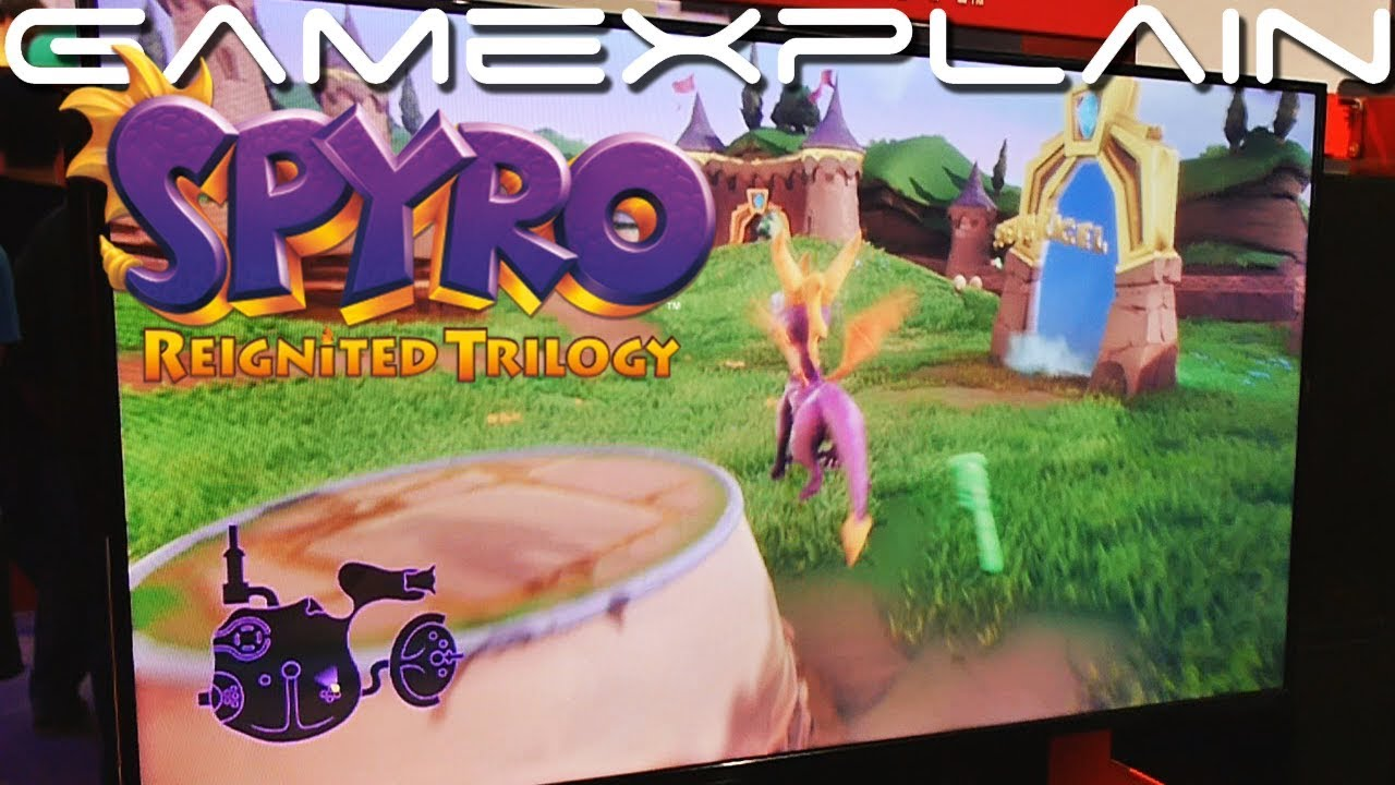 9 Minutes Of Spyro Reignited Trilogy Gameplay On Nintendo Switch Gamescom Youtube