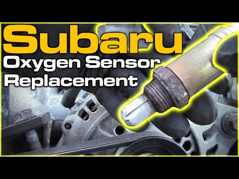 Subaru Oxygen Sensor Replacement - YouTube on