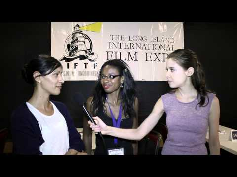 Short film 'Once Upon A Time' at the Long Island Film Expo. Jessica Mazo interviews.