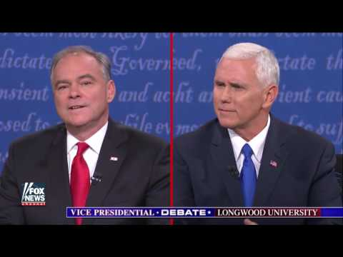 Mike Pence, Tim Kaine slam Clinton, Trump foundations
