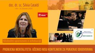 Promjena mentaliteta: Učenici nisu kontejneri za punjenje odgovorima! (doc. dr. sc. Silvia Cataldi)