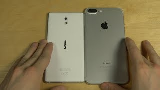 Nokia 3 vs. iPhone 7 Plus - Which Is Faster?